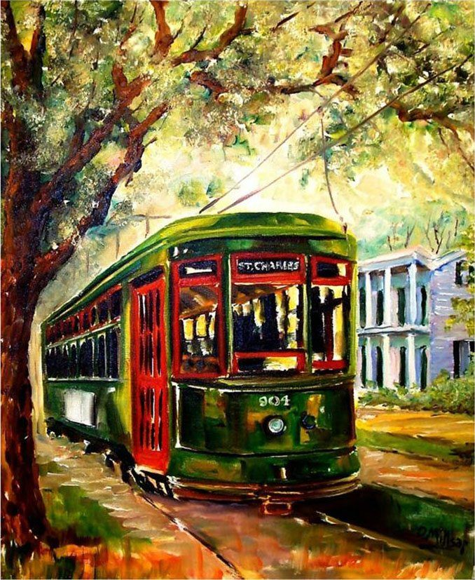 Image Result For Garden District Trolley Route New Orleans