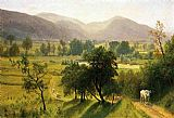 Albert Bierstadt Conway Valley, New Hampshire painting