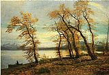 Albert Bierstadt Lake Mary, California painting