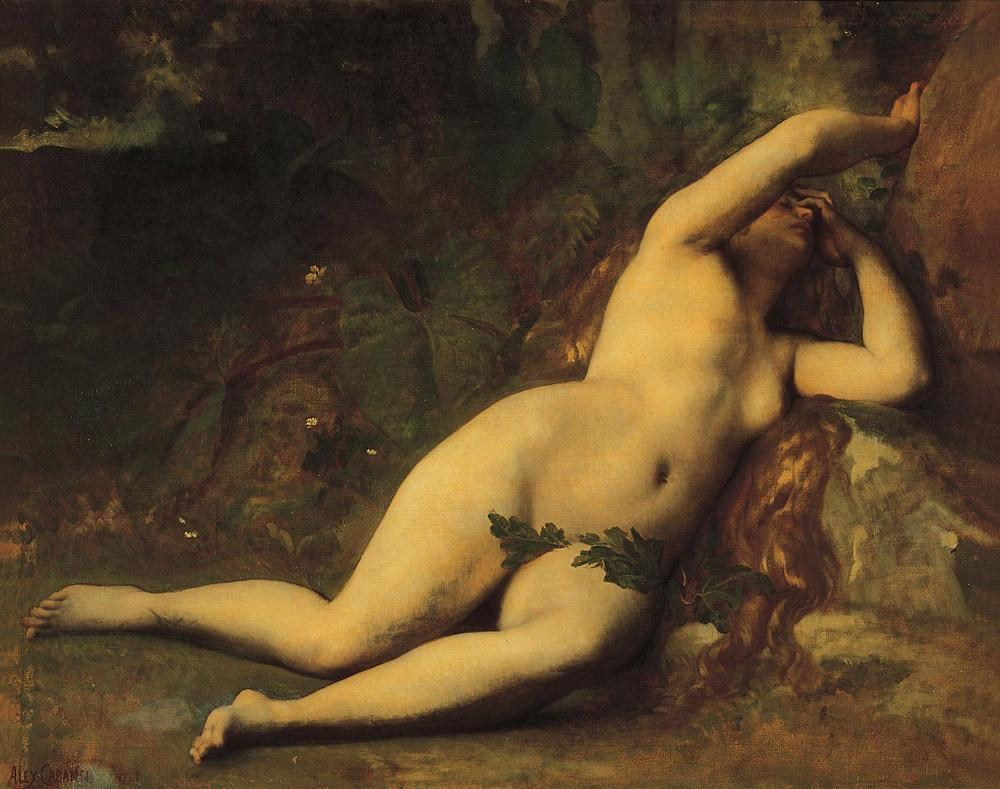 Alexandre Cabanel Eve After the Fall