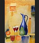 Alfred Gockel A Light Repast II painting