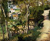 Camille Pissarro The Climbing Path, L'Hermitage, Pontoise painting