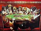 Cassius Marcellus Coolidge Poker Sympathy painting