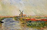 Claude Monet Champ de tulipes en hollande painting