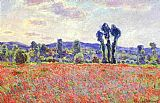 Claude Monet The Fields of Poppies painting