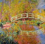 Claude Monet The Japanese Bridge 01 painting