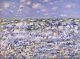 Claude Monet Waves Breaking painting