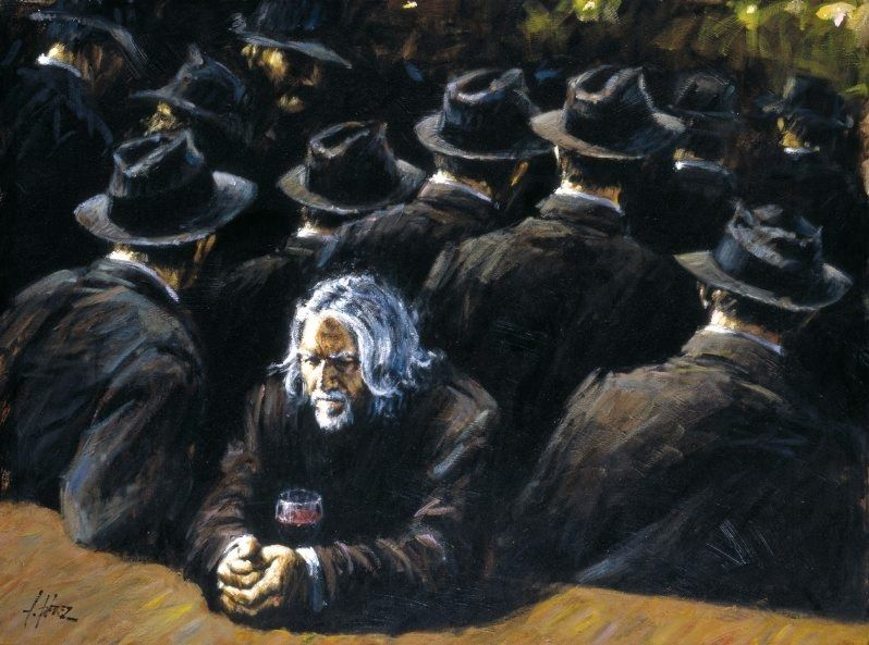 Fabian Perez Untitled II