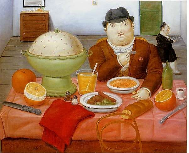 Fernando Botero The Supper 1987