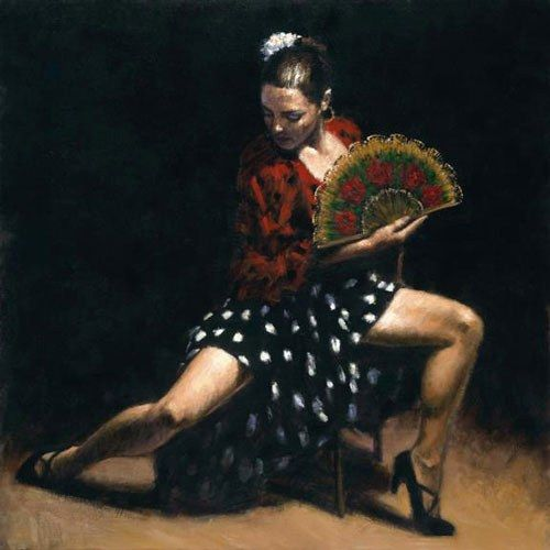 Flamenco Dancer Sevillana 50 Off