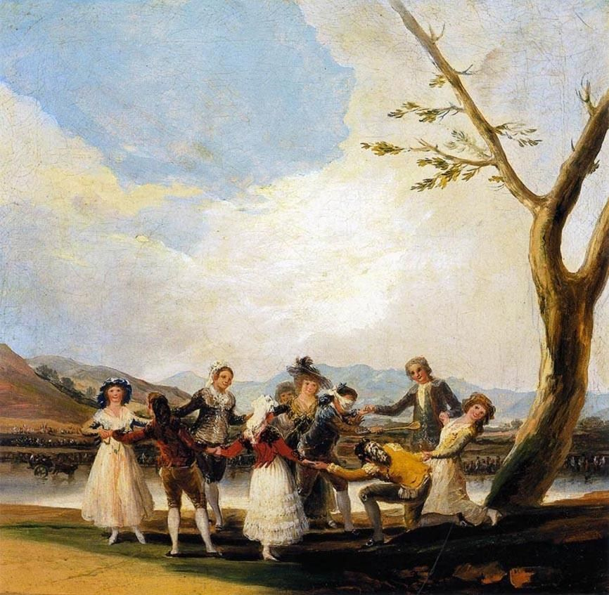 Francisco de Goya Blind Man's Buff