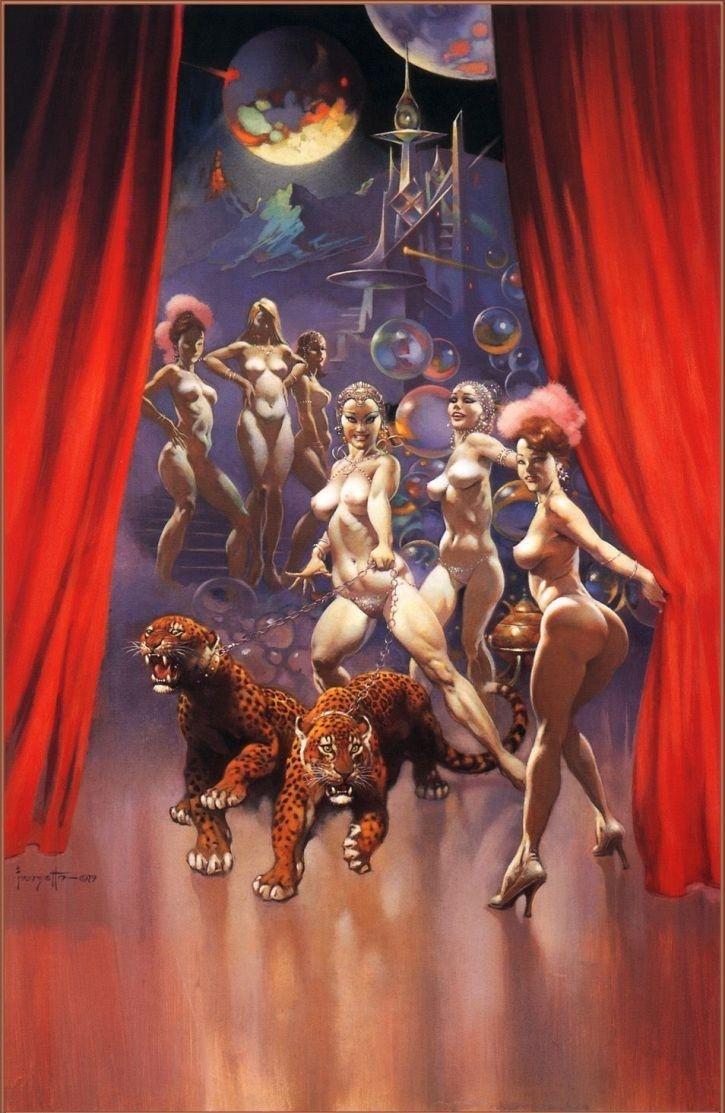 Frank Frazetta Nude 50% off - ArtExpress.ws