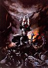 Frank Frazetta The Death Dealer II painting