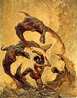 Frank Frazetta Winged Terror painting