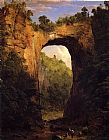 Frederic Edwin Church The Natural Bridge painting