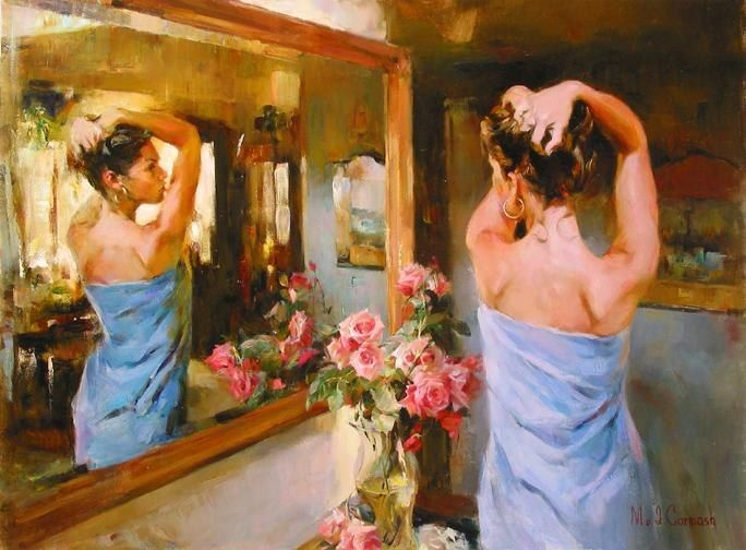 Garmash BEAUTY IN THE MIRROR