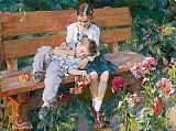 Garmash Garden Treasures painting