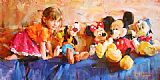 Garmash PARTY OF FIVE painting