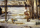 George Bellows A Morning Snow painting