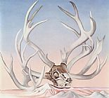 Georgia O'Keeffe From the Faraway Nearby 1937 painting