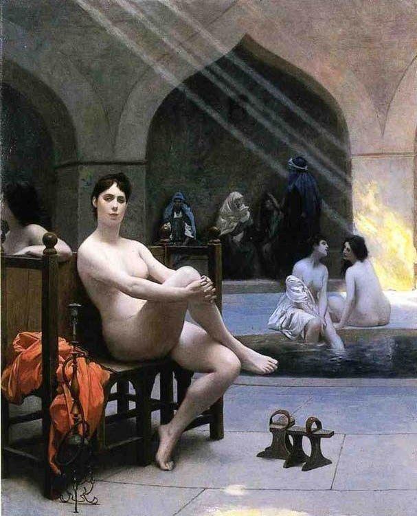 Jean Leon Gerome The Womens Bath
