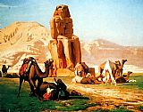Jean-Leon Gerome Memnon And Sesostris painting