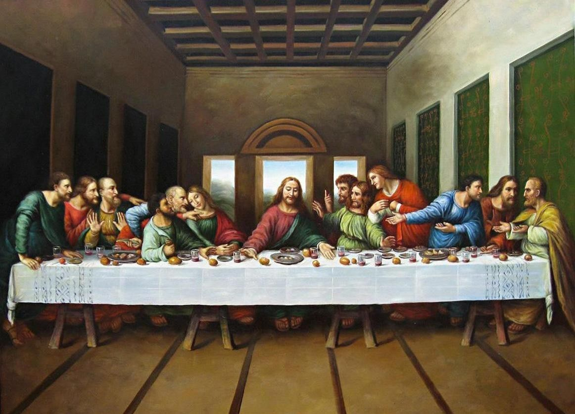 Leonardo Da Vinci Original Picture Of The Last Supper 50