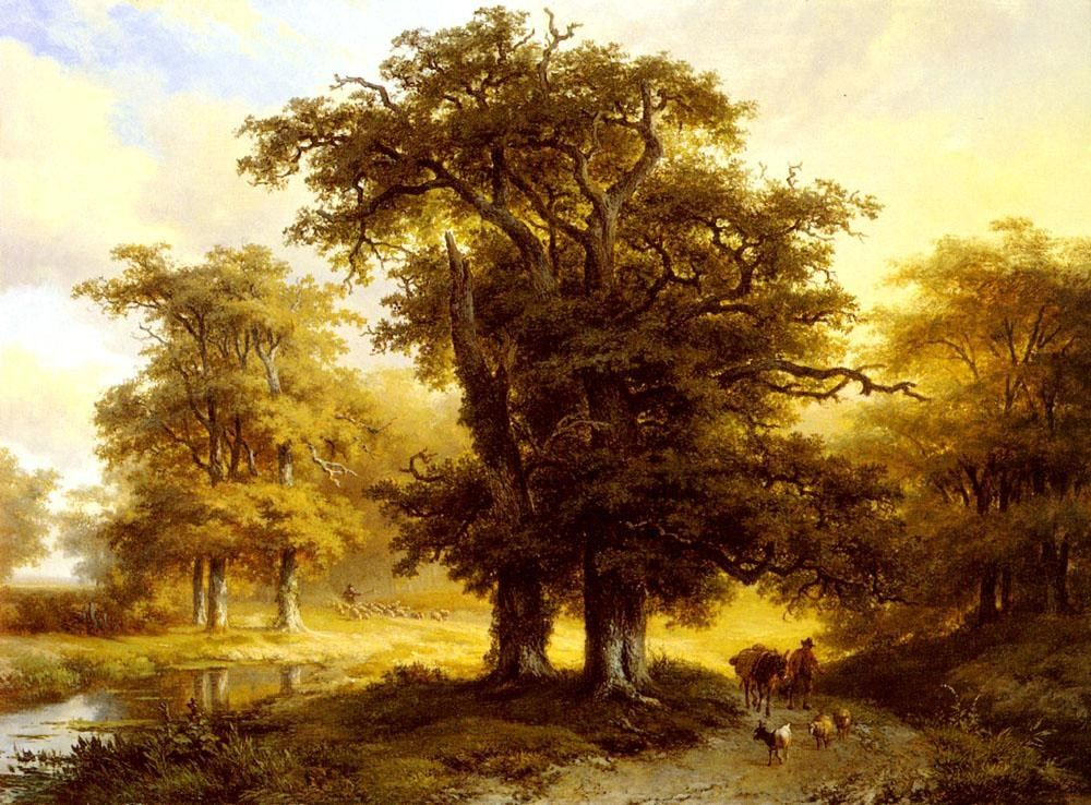 Marianus Adrianus Koekkoek The Country Road
