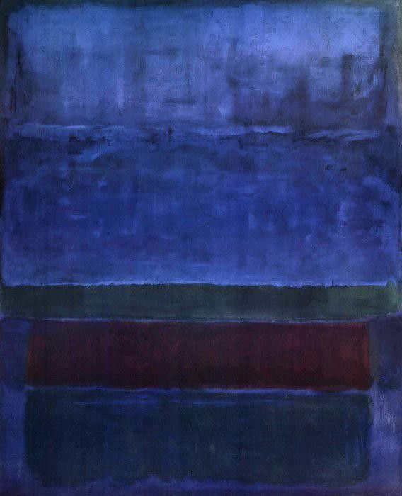 mark rothko blue green and brown