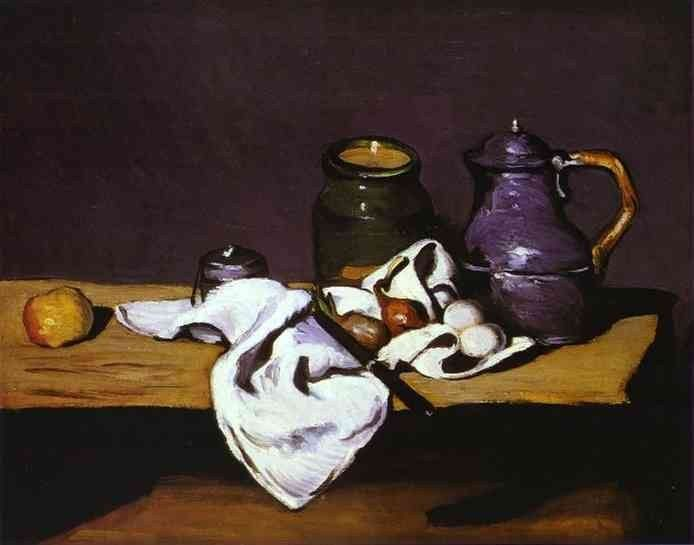 Paul Cezanne Still Life with Kettle