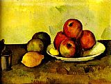 Paul Cezanne Still-life with Apples painting