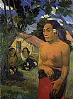 Paul Gauguin Where Are You Going 2 painting