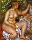 Pierre Auguste Renoir After The Bath painting