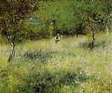 Pierre Auguste Renoir Spring at Catou painting
