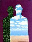 Rene Magritte High Society painting