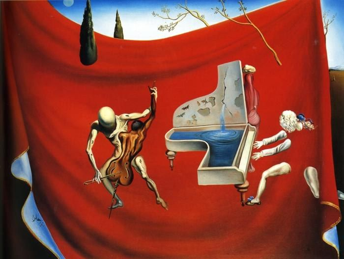 Salvador Dali Music The Red Orchestra The Seven Arts