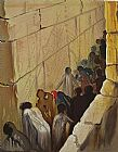 Salvador Dali The Wailing Wall painting