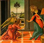 Sandro Botticelli The Cestello Annunciation painting
