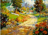Songer Steve A Crisp Autumn Day painting