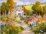 Songer Steve The Garden Path way painting