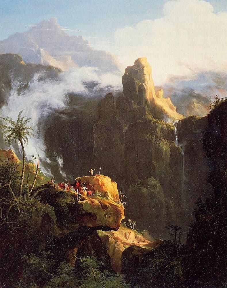 Thomas Cole Saint John in the Wilderness