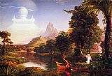 Thomas Cole The Voyage of Life Youth painting