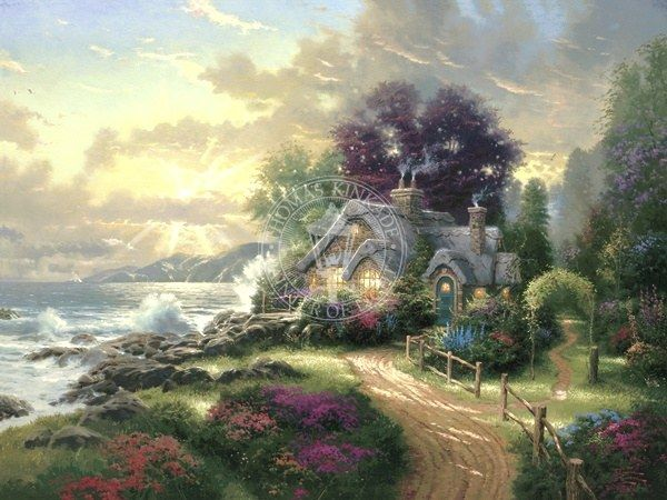 Thomas Kinkade A New Day Dawning