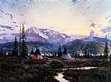 Thomas Kinkade Days Of Peace painting