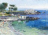 Thomas Kinkade Pacific Grove painting