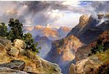 Thomas Moran Grand Canyon 1912 painting