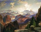 Thomas Moran The Grand Canyon painting