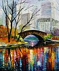 Unknown Central Park painting