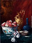 Antoine Vollon Still Life With Peaches painting