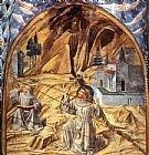 Benozzo di Lese di Sandro Gozzoli Scenes from the Life of St Francis (Scene 11, south wall) painting